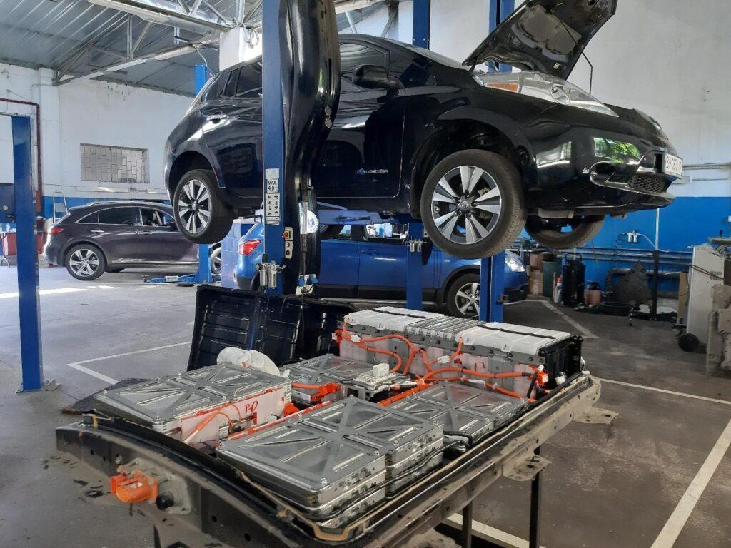 Диагностика и ремонт электромобилей в Одессе